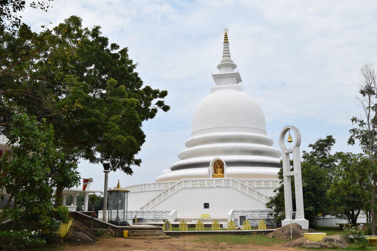 Cantaloupe Levels Japanese Peace Pagoda