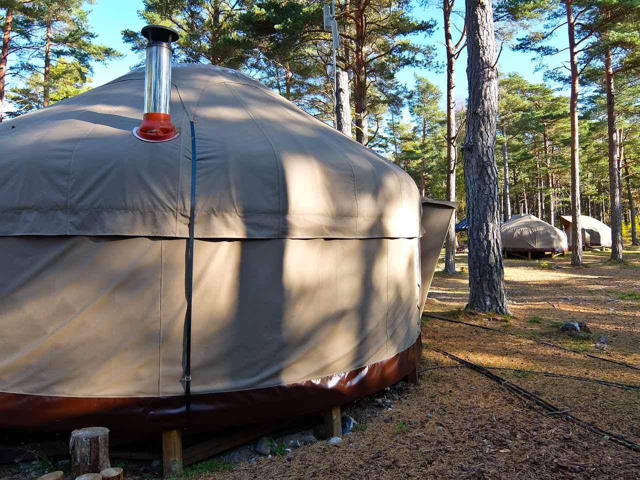 Canvas Hove Yurts
