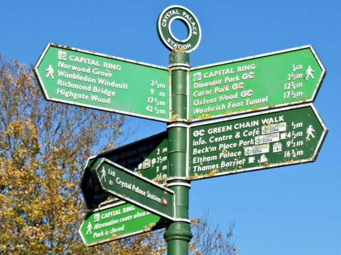 Capital Ring Sign