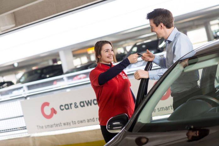 Car and Away - with customer