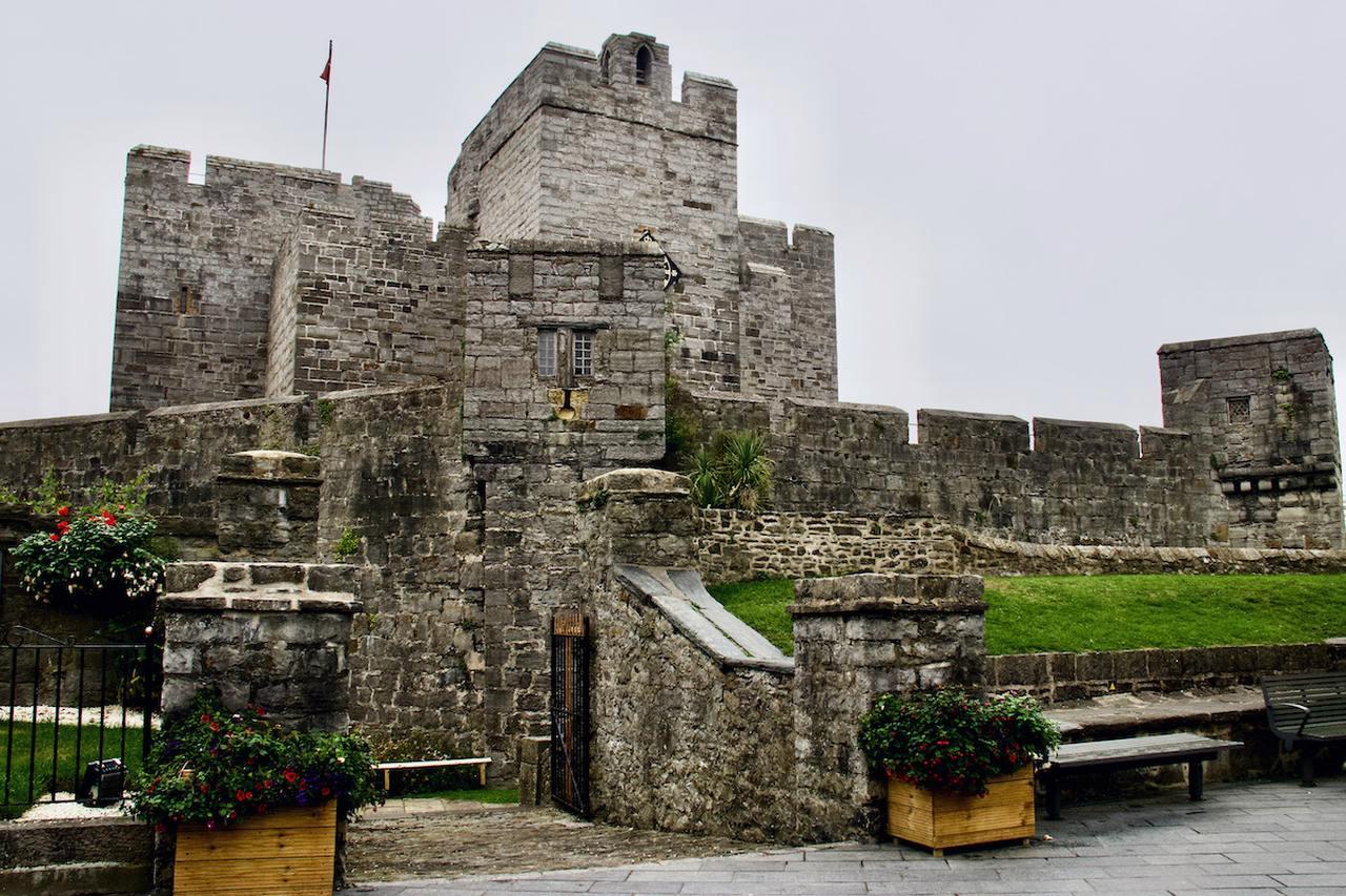 Castle Rushen in Castletown