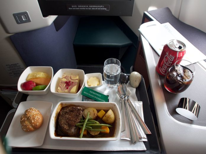 Cathay Pacific To Trial Dine On Demand Service From