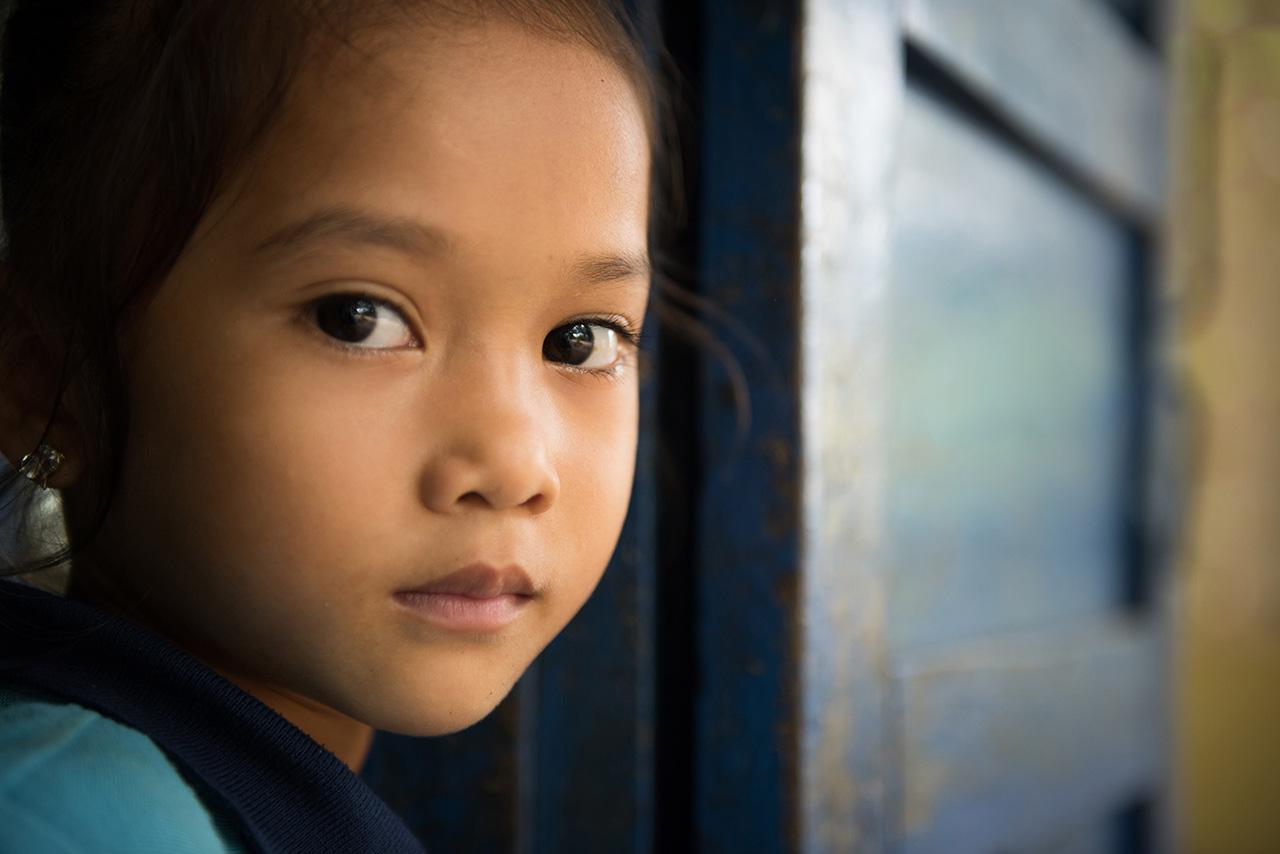 Little girl in Bakan – Pursat Province
