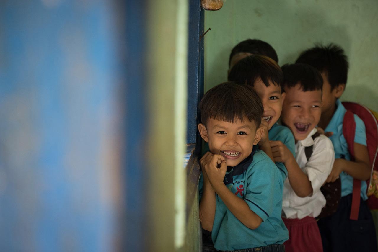 Children in Bakan - Pursat Province