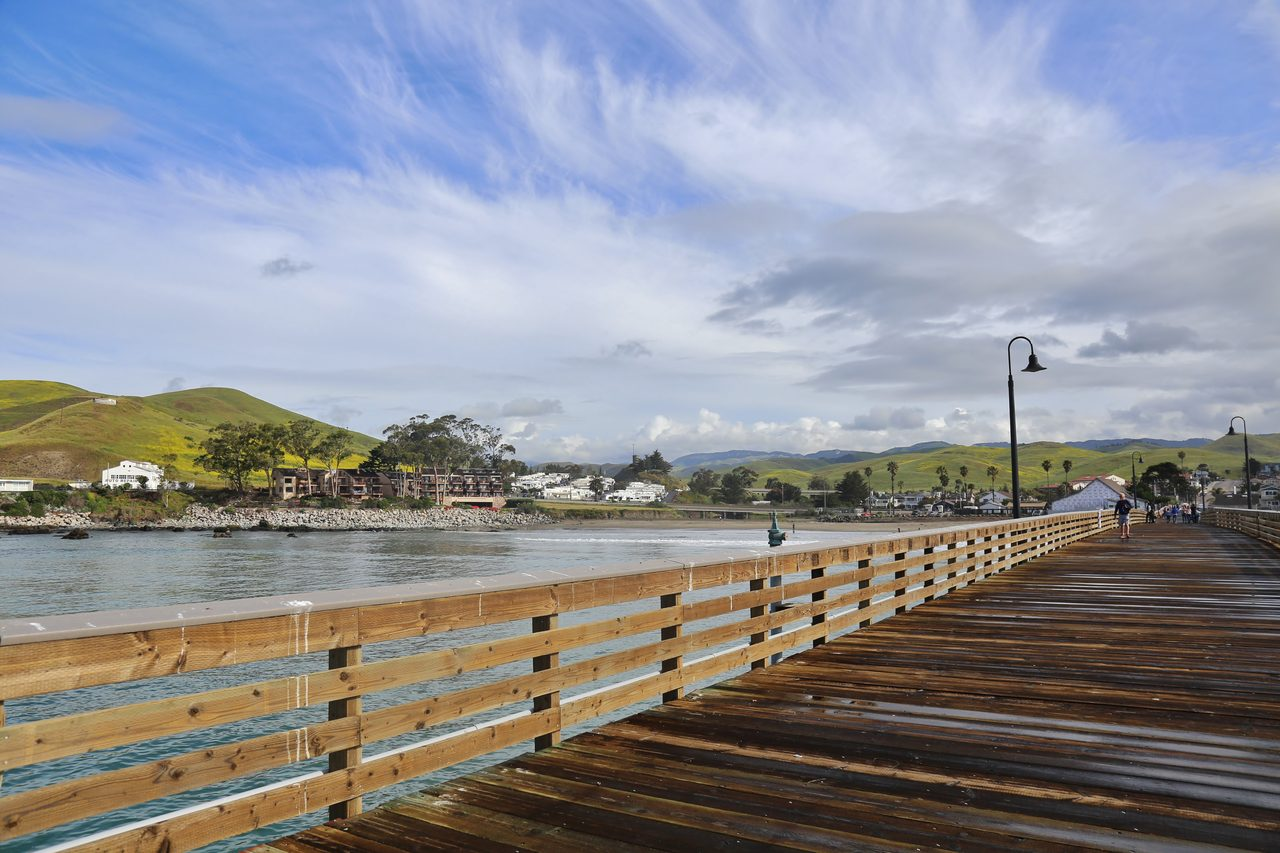 Cayucos: view from the Pier