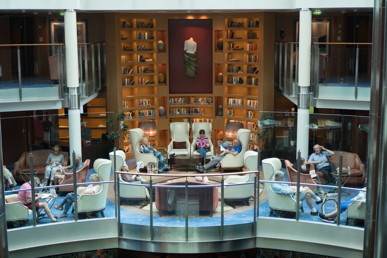 Celebrity Silhouette - library