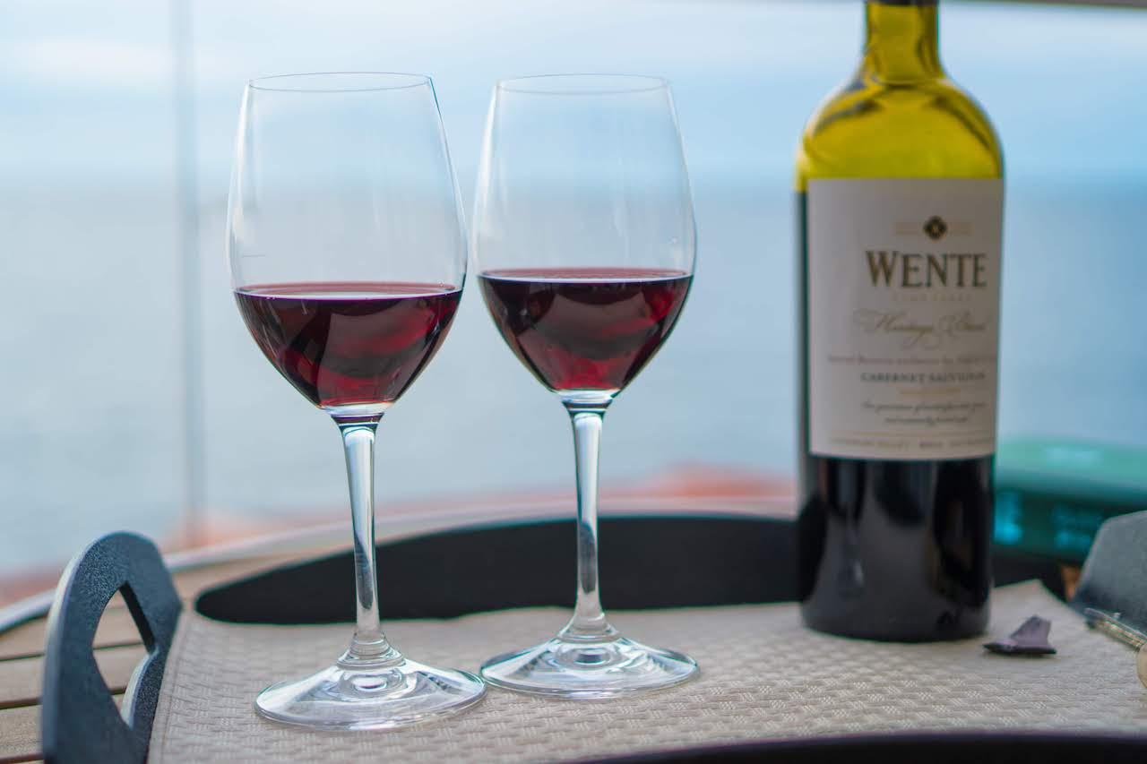 Celebrity Silhouette - wine
