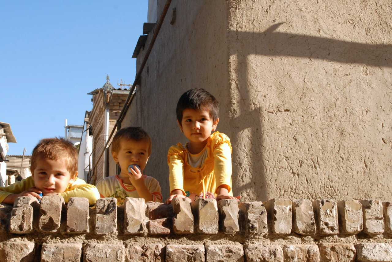 Central Asia - Children in Bukhara