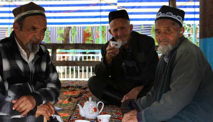 Central Asia - Tea house in Tashkent