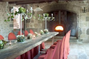 Château Martinus dining room