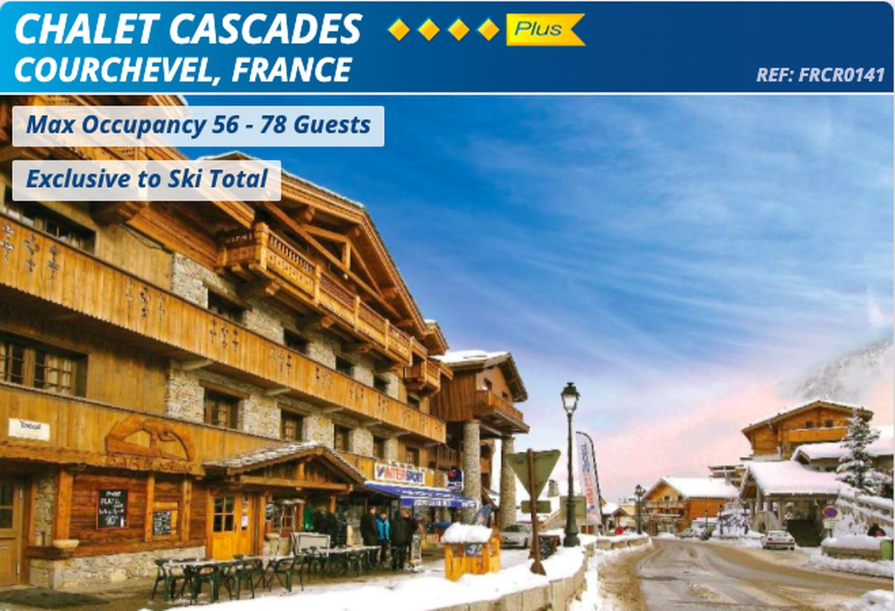 Chalet Cascades, Courchevel