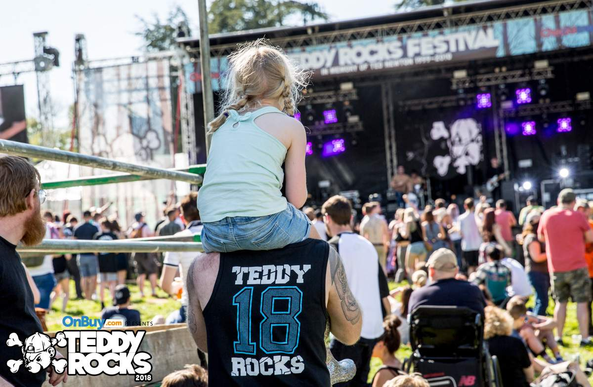 Teddy Rocks Festival during the day