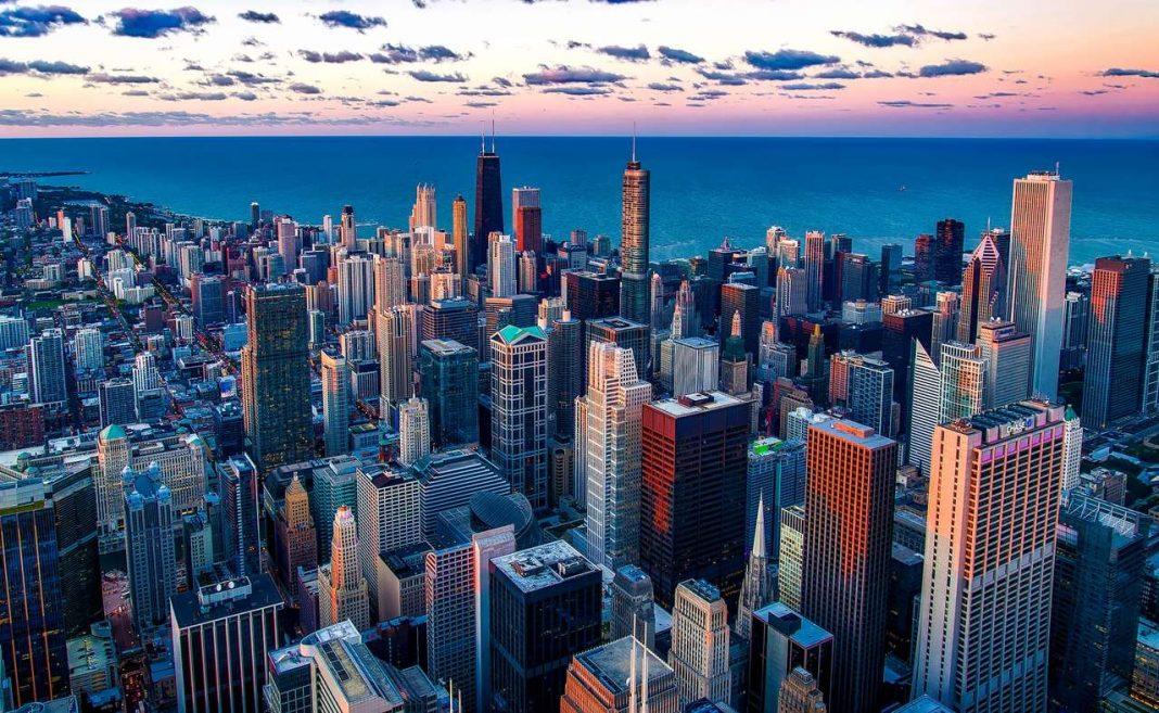 Chicago tallest and densest