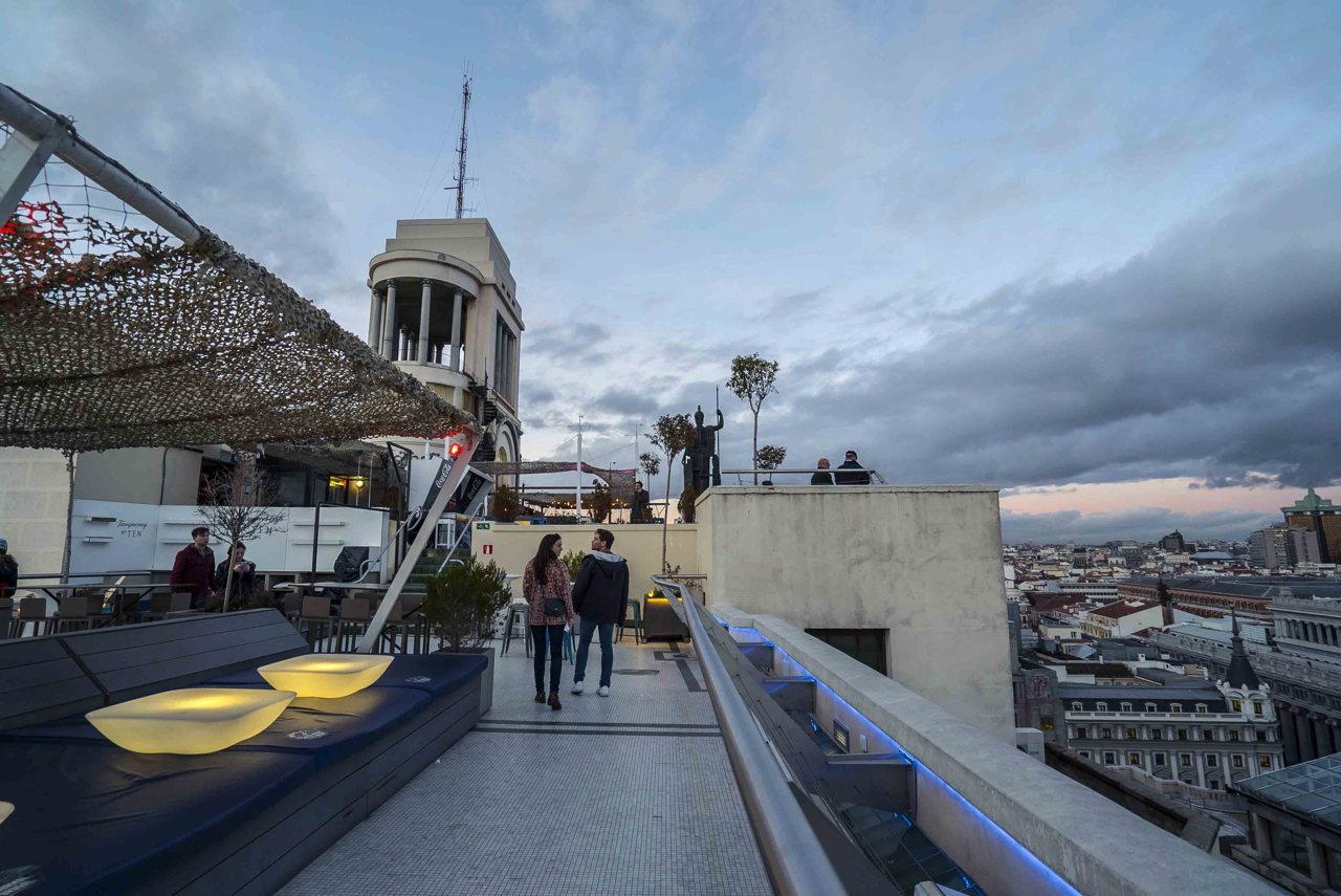 Tartan Roof, Circulo de Bellas Artes