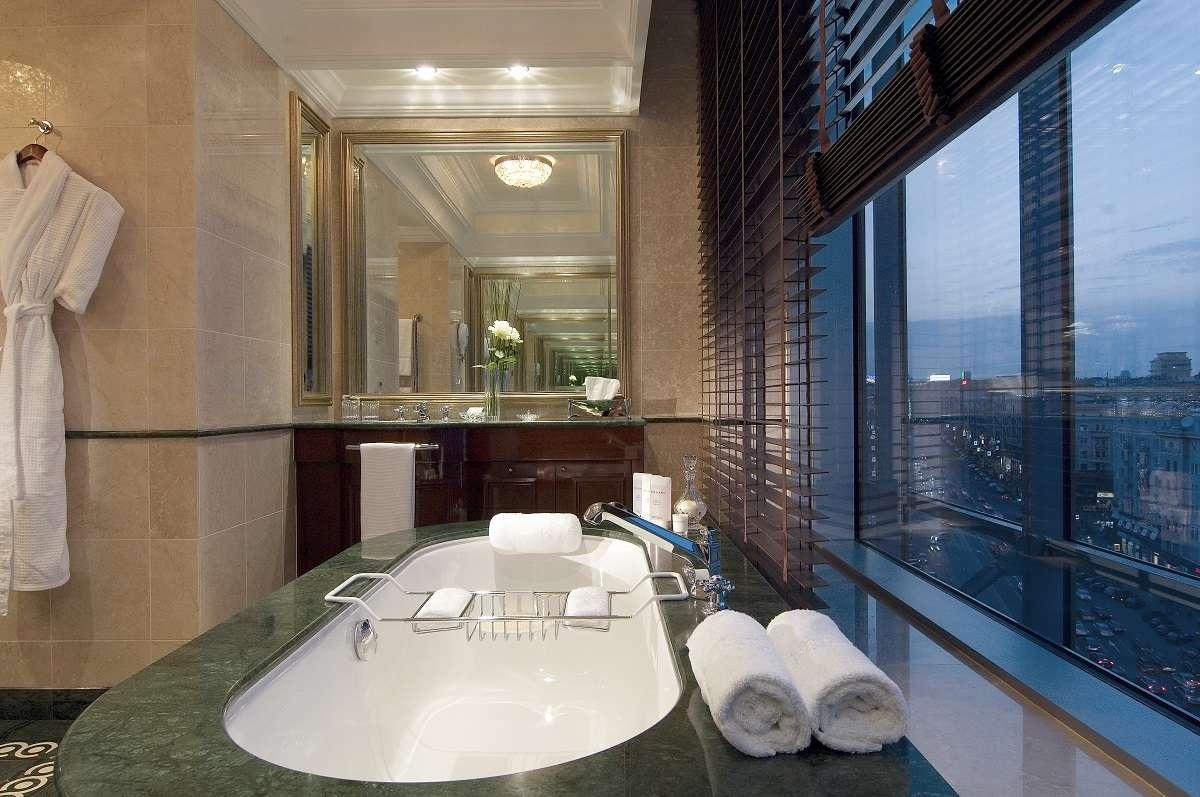 Club Bathroom at Ritz Carlton, Moscow