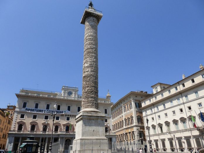 Column of Marcus Aurelius Rome