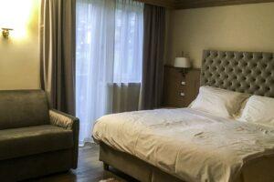Comfort Room at Hotel Lorenzetti © Valery Collins
