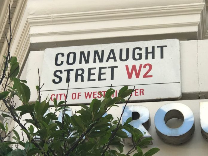 Connaught Street, Connaught Village, London