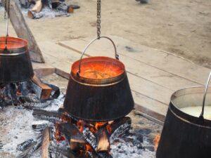 Fish paprika stew