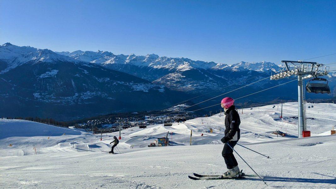 Crans-Montana skier