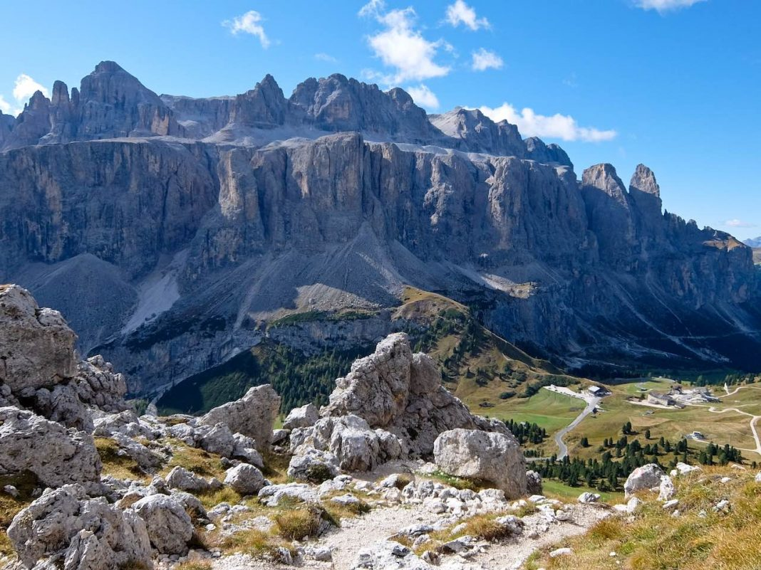Crown of Gardena - Val Gardena and Sella Massif