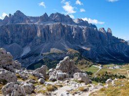 Crown of Gardena - Val Gardena and Sella Massif