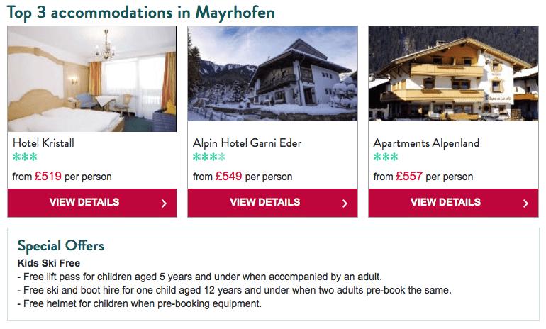 Crystal Ski Mayrhofen
