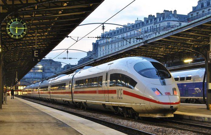 DB Bahn Intercity Express ICE train