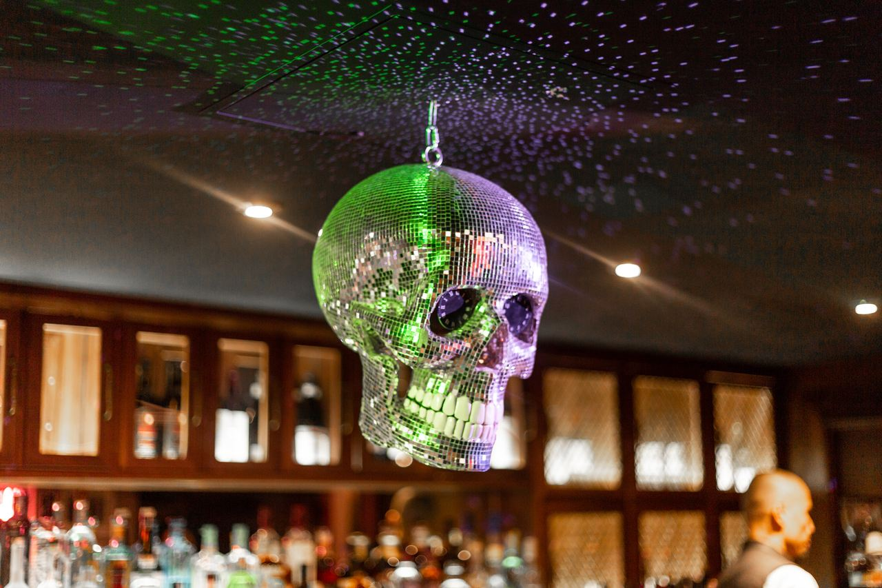 Damien Hirst Disco Skull