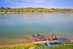 Danube coast in Vukovar