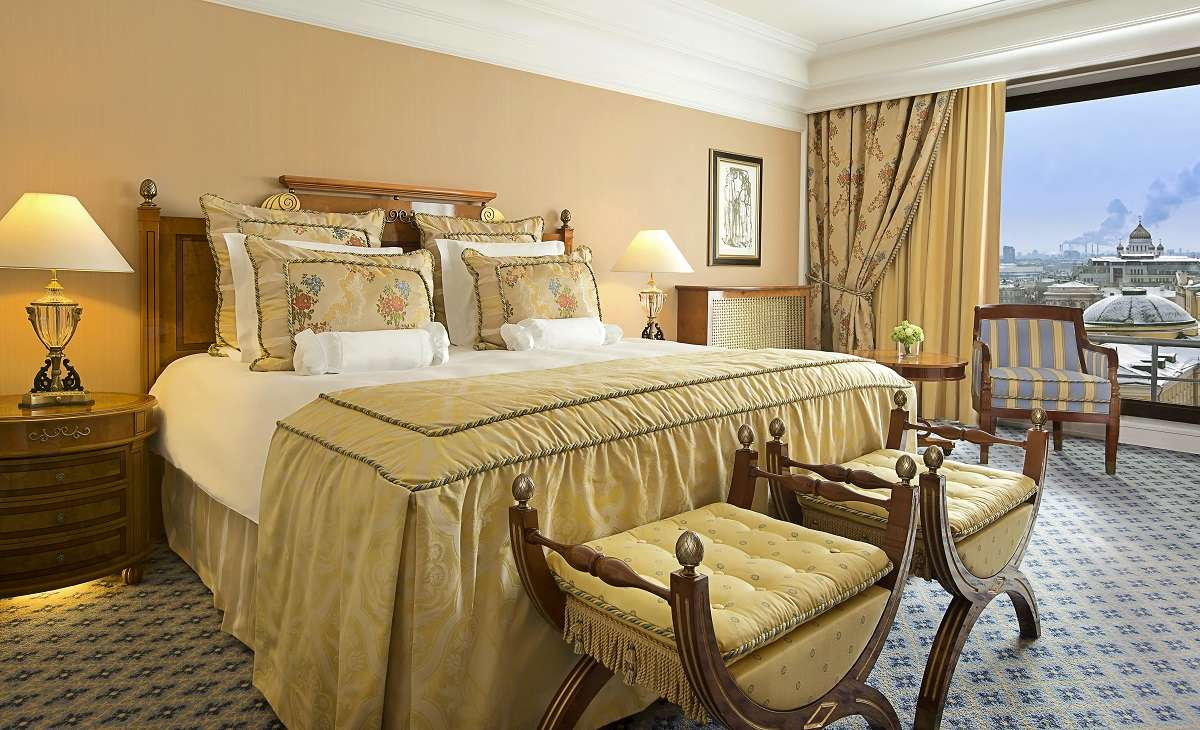 Deluxe Room at The Ritz Carlton, Moscow