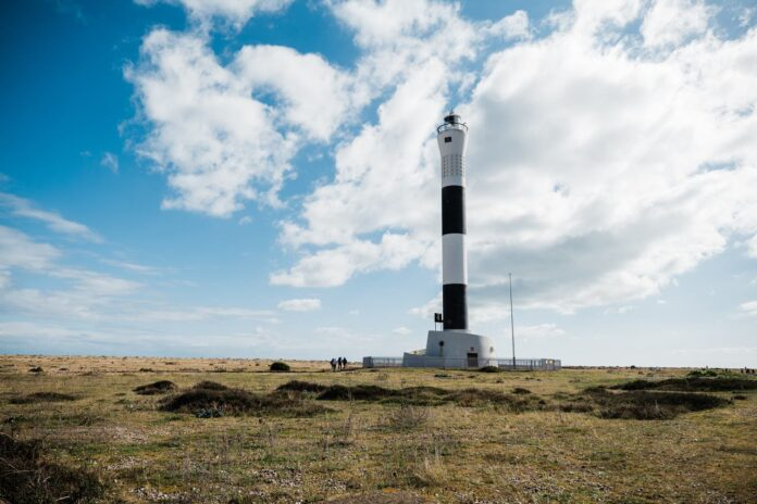 The Old Lighthouse in Dungeness