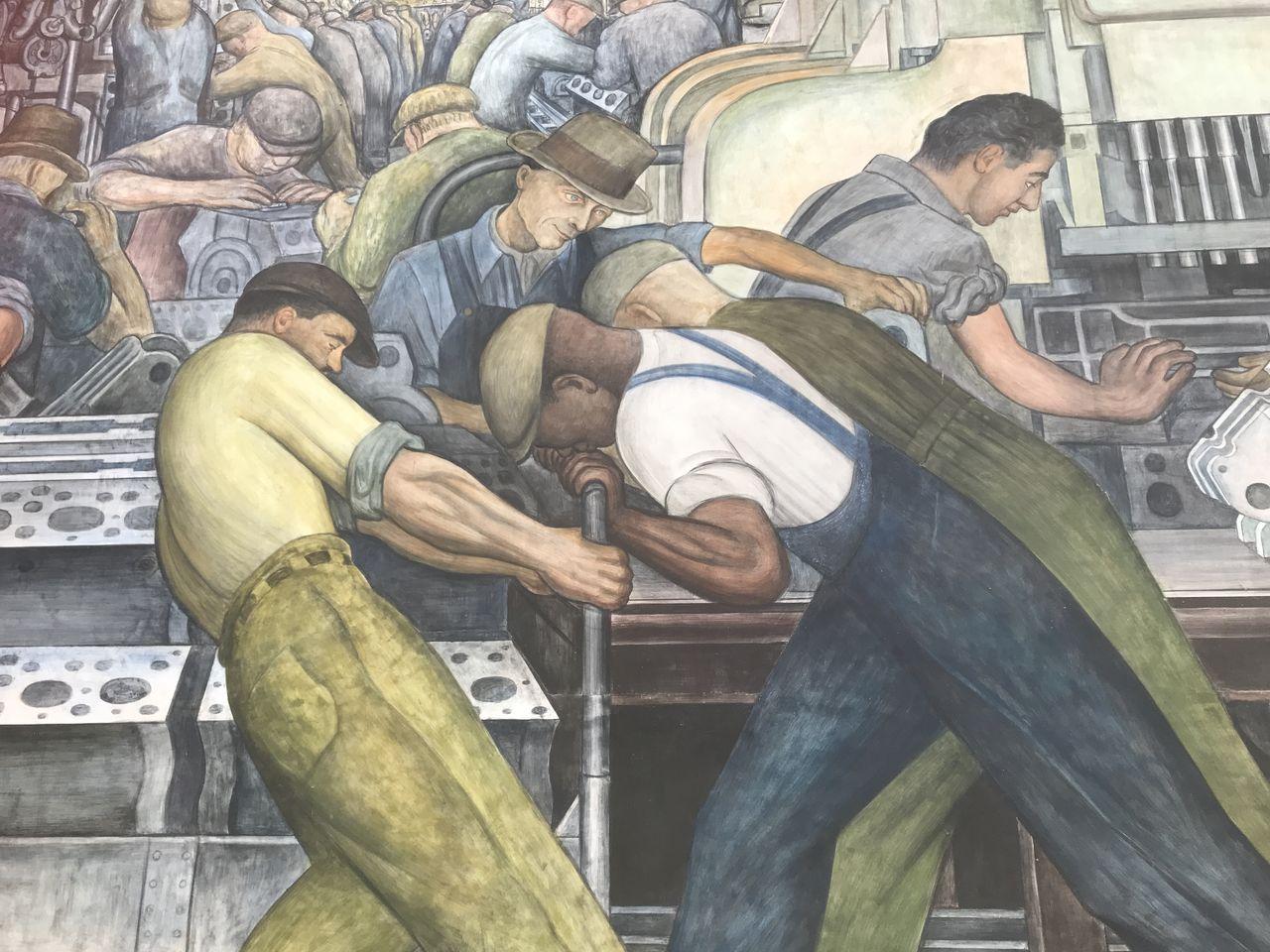 Diego mural