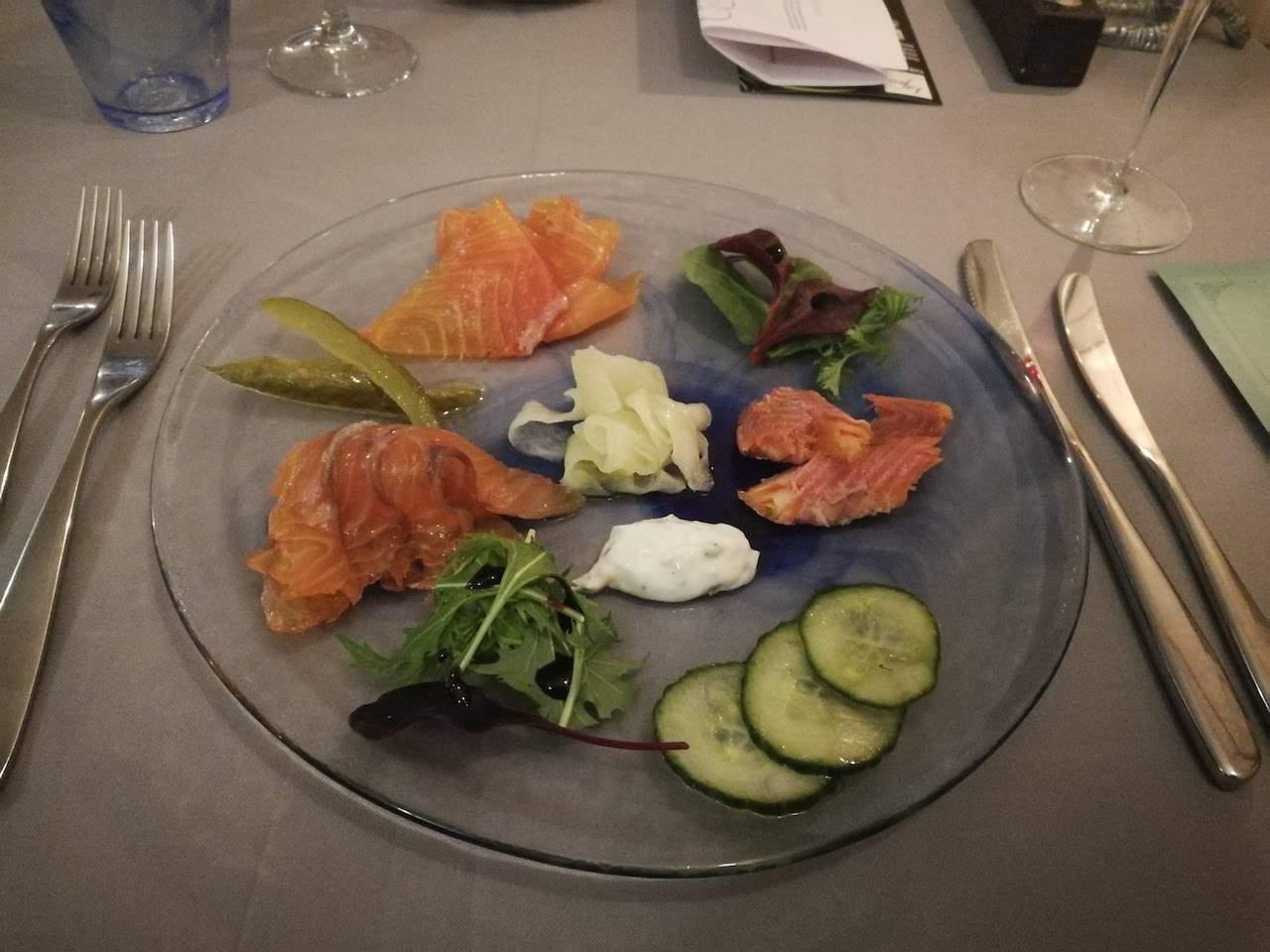 Dining at La Fosse