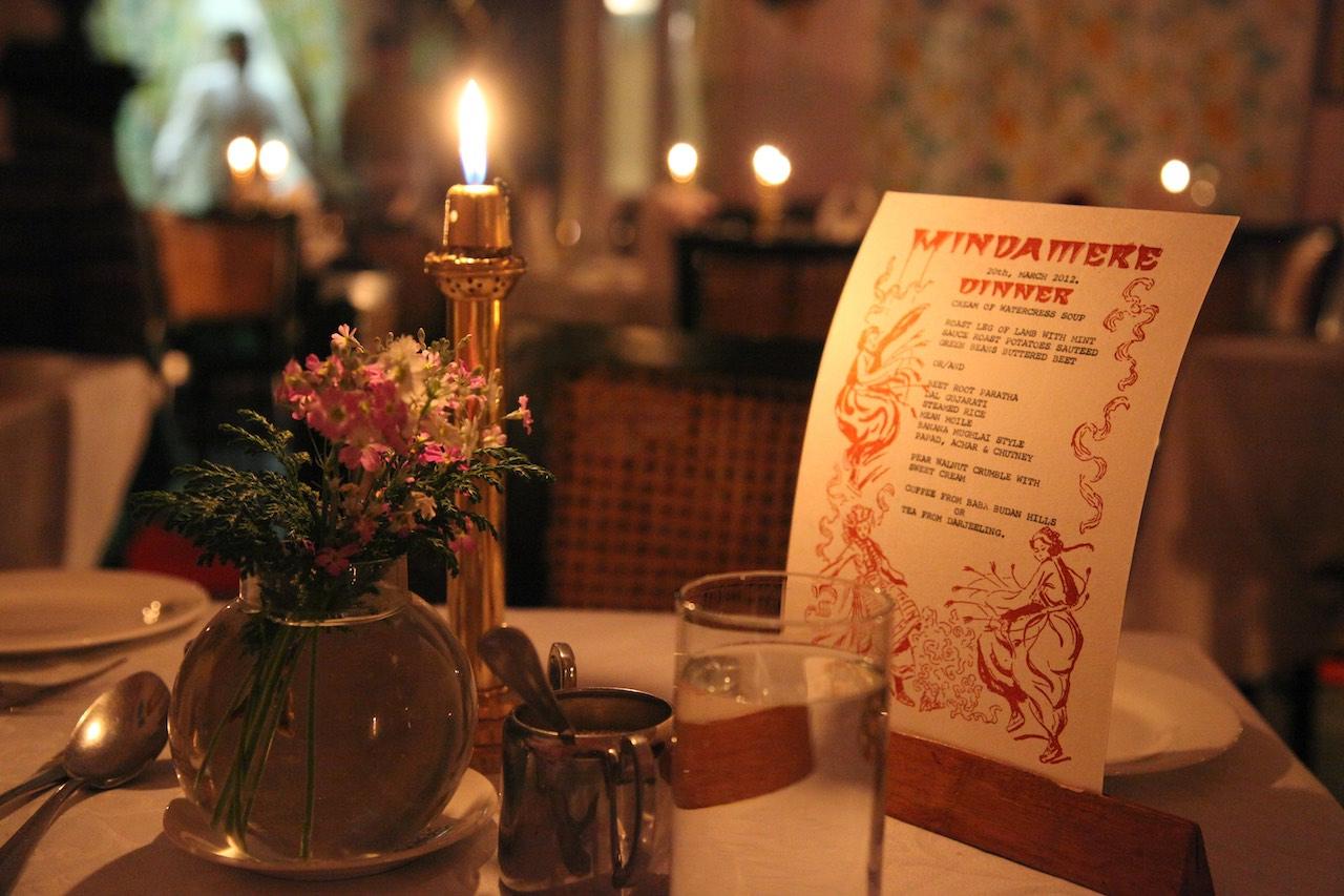 Dinner at Windamere Hotel