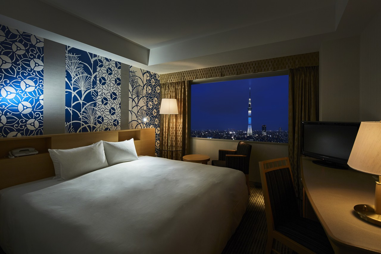 Double room with skytree view, Tobu Hotel Levant Tokyo, Japan