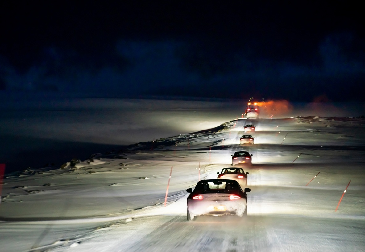 Driving at night c David Smith