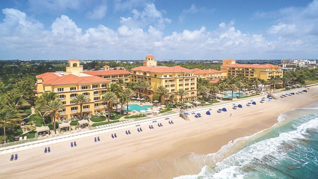 Eau Palm Beach Resort - aerial view