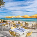 Eau Palm Beach Resort - ocean-front dining at the Breeze
