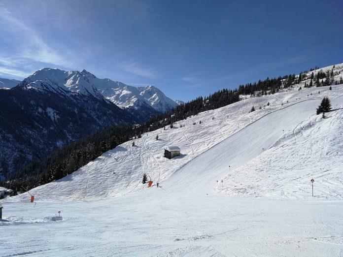 Empty slopes at Kappl
