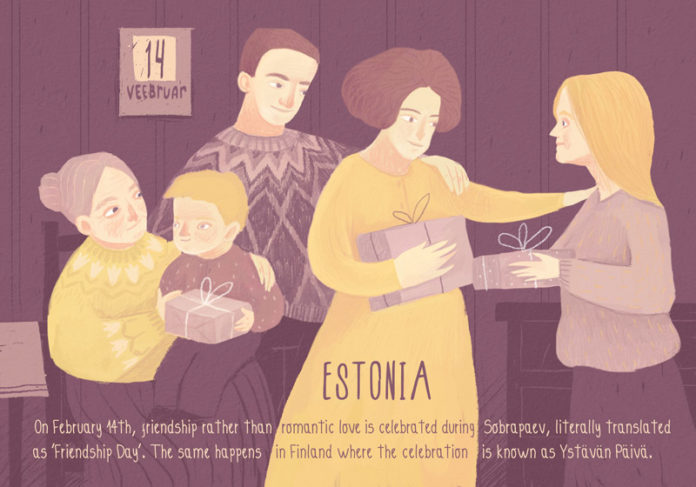 Valentine's Day Traditions from Around the World: Estonia