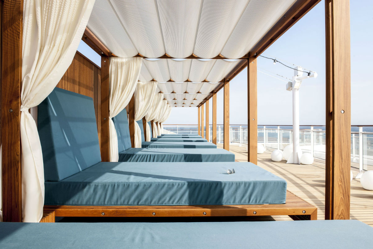 MS Europa 2 Daybed