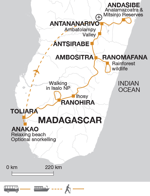 Madagascar, The Lost Continent tour with Explore