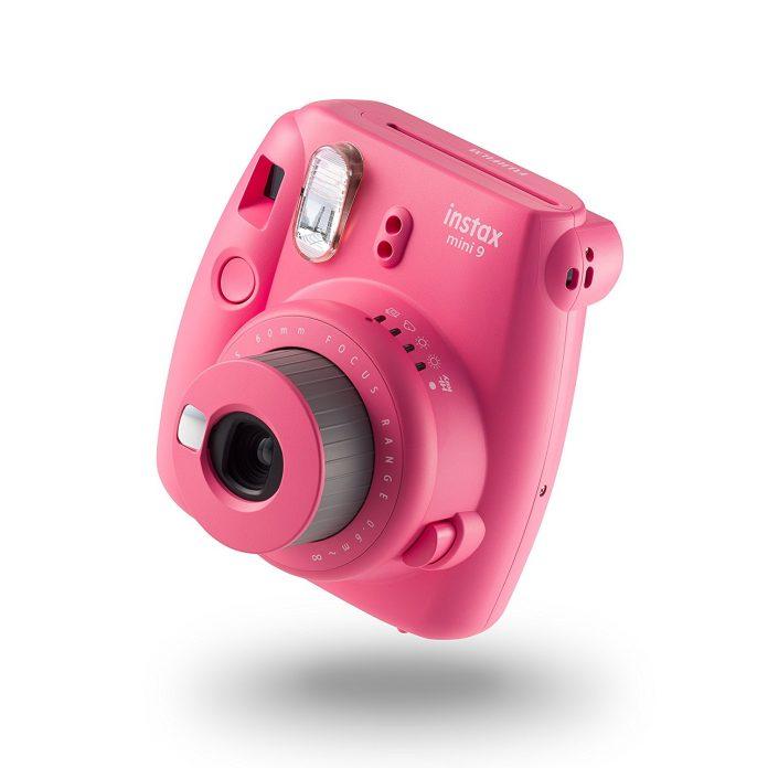 FUJI instax Mini 9 Camera with 10 Shots - Flamingo Pink