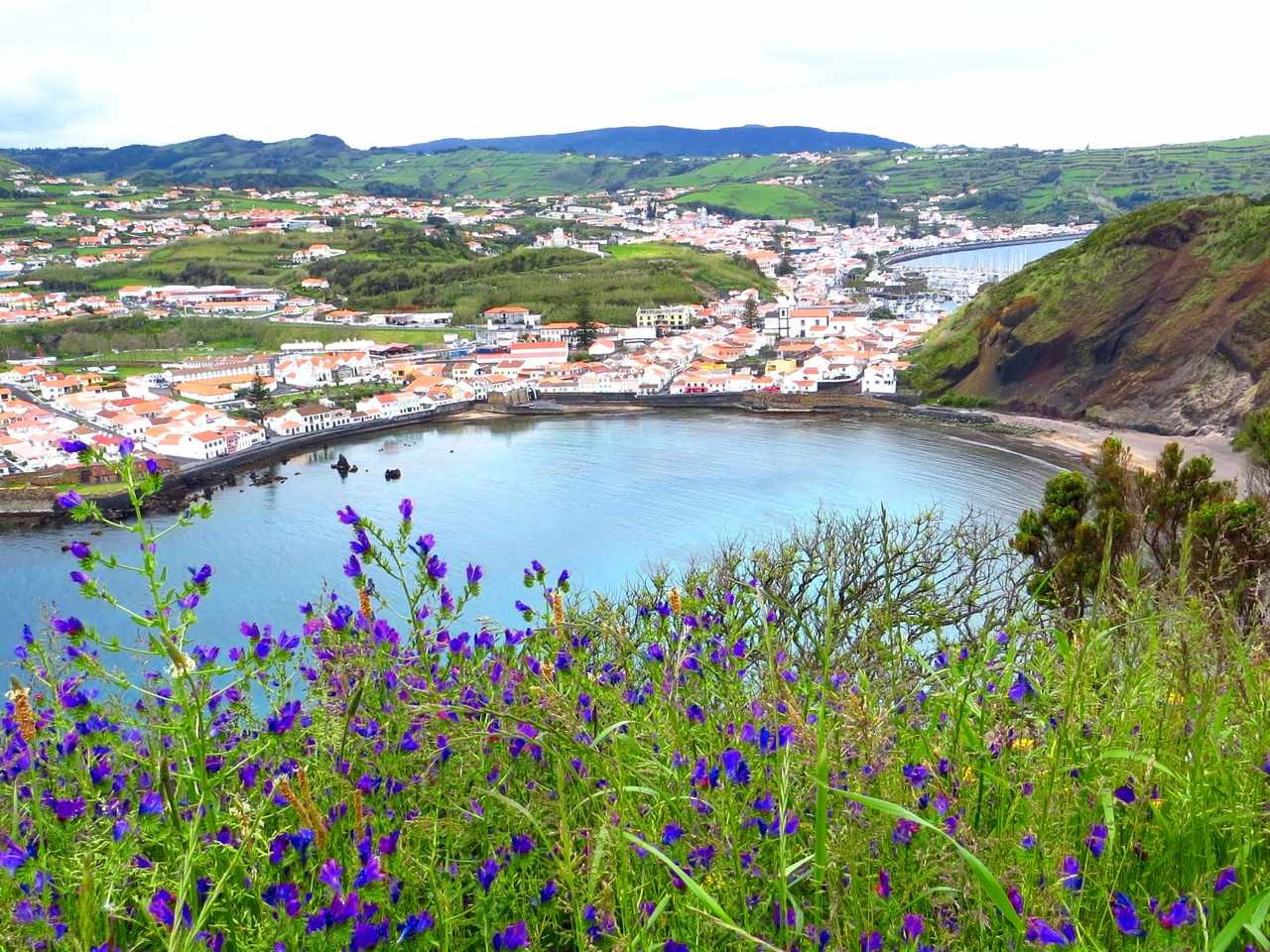 Faial - view of Horta