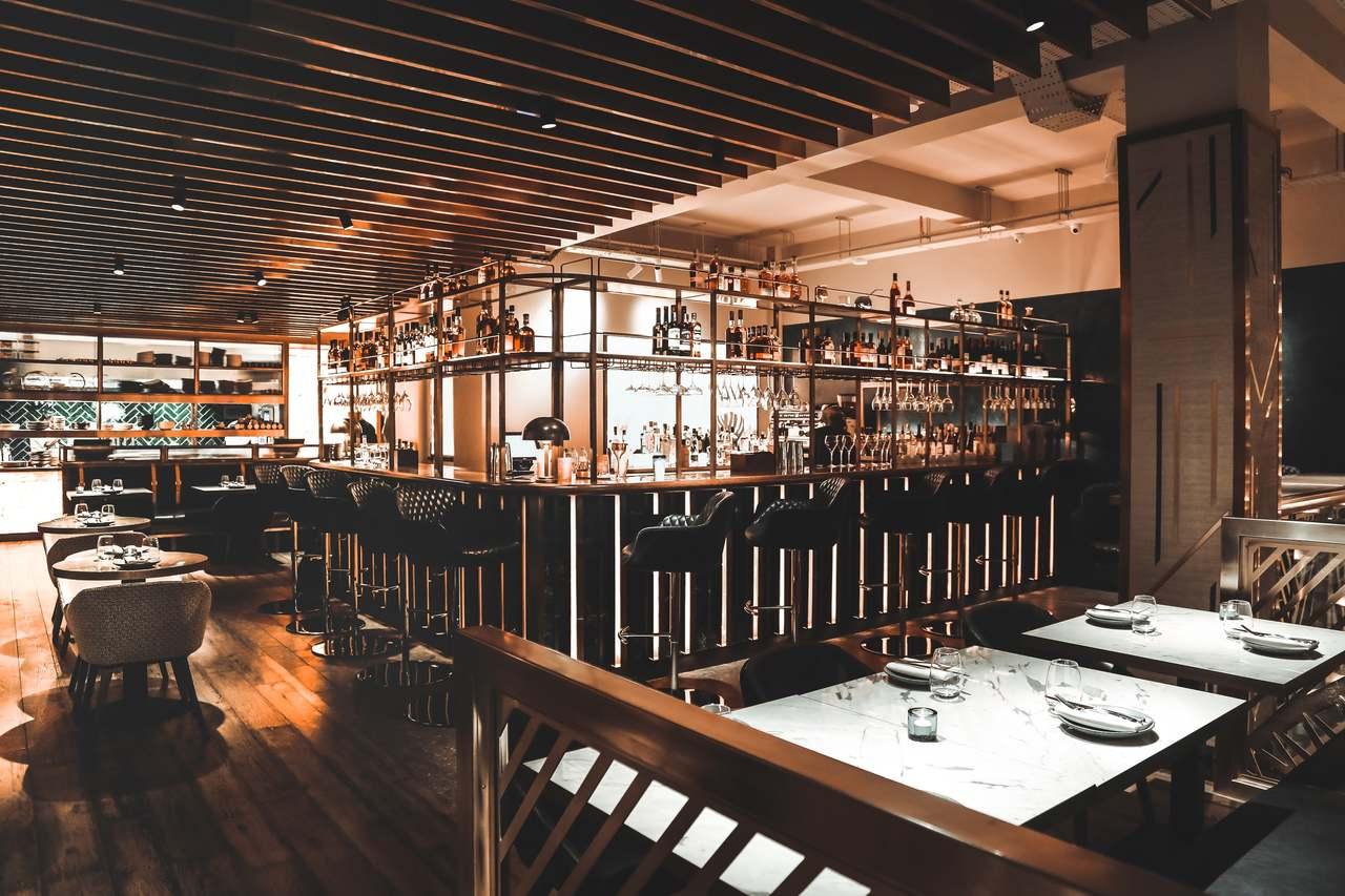 Farzi Cafe London Interior