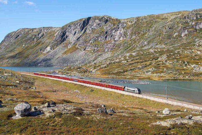 Finse train Norway