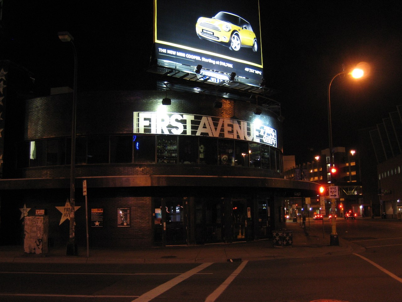 First Avenue club, Minneapolis