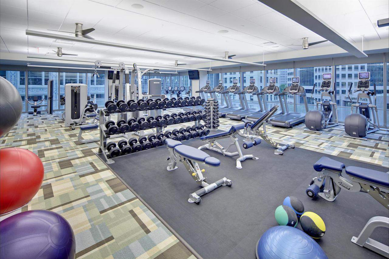 Fitness Centre Fairmont Pittsburgh