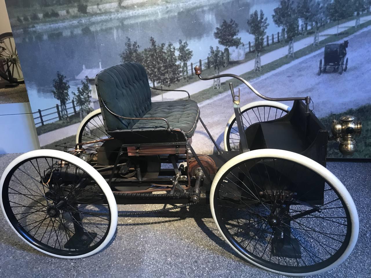 Ford's first car - The Quadrangle